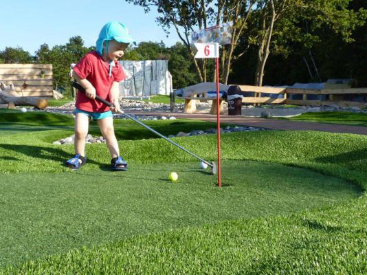 Adventure Golfplatz-Planung