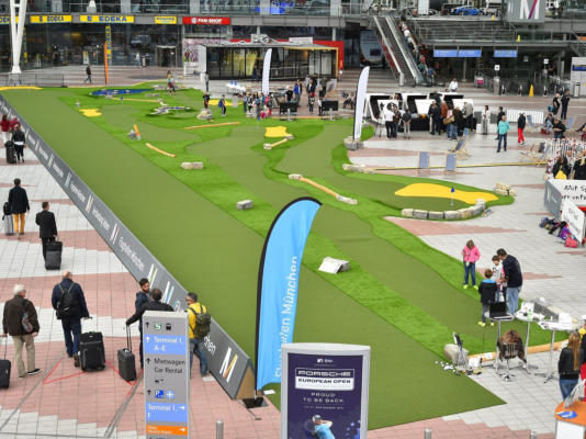 Event Mini-Golfplatz